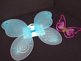 Just Pretending children s dress up butterfly wings and plastic decorative butterfly