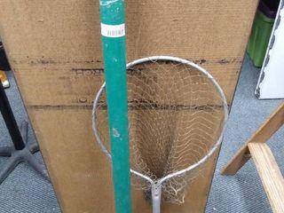 Fishing rod holder W  fishing rod   fishing net