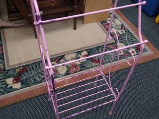 Wire standing plant rack 34 1 2 in H X 15 in W X 10 in D
