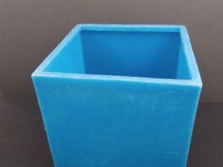 Plastic cube organizer 10 in X 10 in