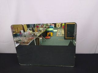Hanging wall mirror 24 in H x 18 in