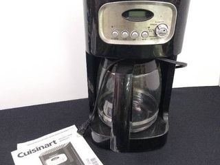 Cuisinart classic 12  cup programmable coffee maker with 2 coffee pots