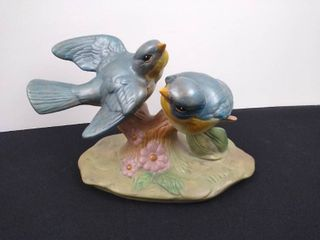 2 birds on a log  Holland Mold 5 in H
