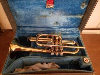 Conn Trumpet in Case