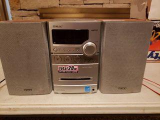 Sony Desktop Mini CD Stereo System Model CMT NEZ3
