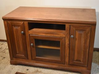Wooden TV Entertainment Stand