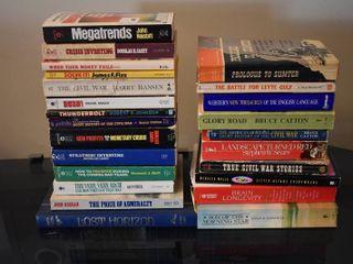 large lot of Assorted Novels  Books    Thesaurus
