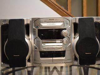 Panasonic Stereo   Model     SA AK58