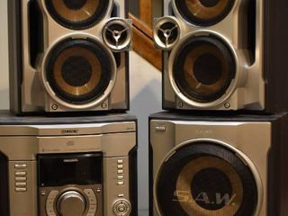 Sony Stereo with Subwoofer   Model     MHC GX45