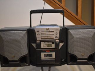 JVC Stereo   Model     PC X560BK