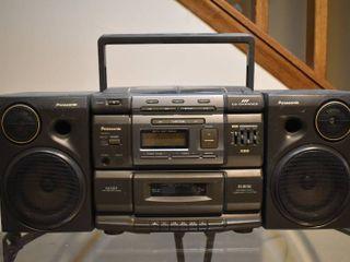 Panasonic Stereo   Model     RX DS750