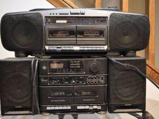 lot of 2 Koss   GE Stereos   Model     PC 605  Koss