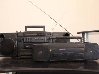 lot of 2 Magnavox Stereos