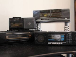 lot of 4 Assorted Radio Cassette Recorders   Model     2414G  Windsor  TAC 925  lasonic  WKC 9559  Seiko  3877 MGY  Sound Design