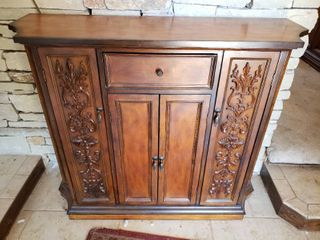 Wooden Entryway Foyer Table   42  W x 13  D x 36  T