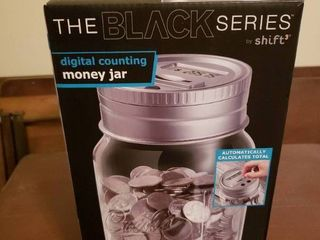 Digital Counting Money Jar Coin Bank  In Box