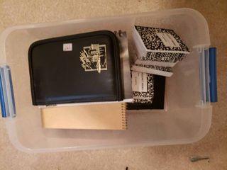 lot of Notebooks   Boeing Zip Folder