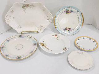 6 Assorted Plates Platter