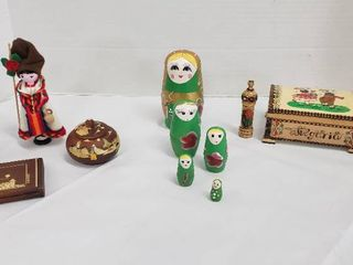 Souvenirs from Ecuador and Bulgaria