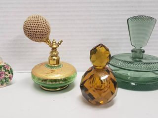 Perfume Bottles  Crystal  Glass and Ceramic
