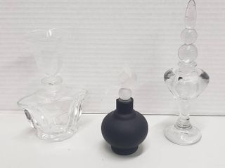 Perfume Bottles  Glass