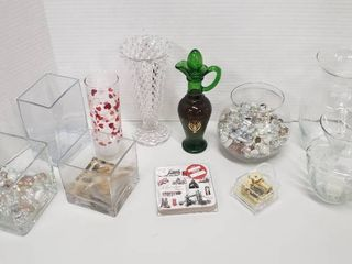 Vases and Candleholders