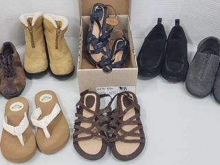 Pairs of ladies Shoes Boots Sandals  Size 8 5 to 9 M   Various Brands