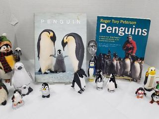 Collection Of Penguins  Books and Decor