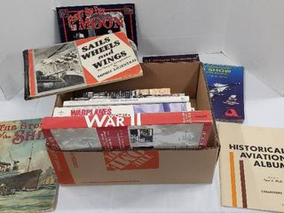 Books on Transportation Vehicles and WWII