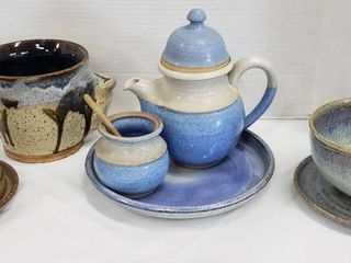 Custom Made Glazed Crock Dishes