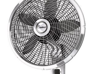 lasko 3 speed Oscillating Wall Mount Fan   22 5 in  H x 18 in  Dia  Retail 87 76