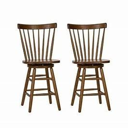 The Gray Barn Mendosa Tobacco Finished Barstool