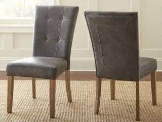 The Gray Barn Overlook Dining Chairs  Set of 2    40 inches high x 21 inches wide x 29 inches deep  Retail 189 99