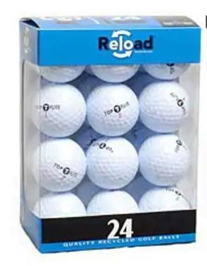Reload 24 pack of Top Flite Golf Balls  Case of 12  Retail 126 99