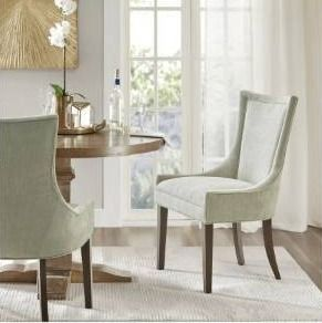 Madison Park Signature Ultra Dining Side Chair Set of 2  Retail 349 99