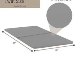 1 5 Inch Fully Assembled Bunkie Board For Mattress Bed Support   Grey  Retail 119 49