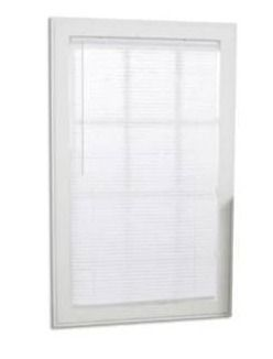 Project Source 1  Cordless vinyl Mini Blind
