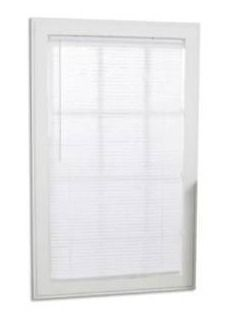 Project Source Cordless White Vinyl 1  Mini Blind