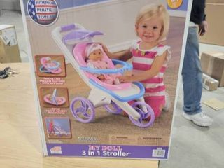 My Doll 3 in 1 Stroller