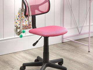 Quincy Task Chair Pink   Buylateral