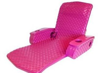 Super Soft Super soft Adjustable Recliner Flamingo Pink