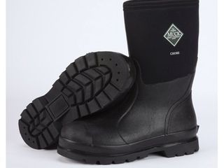 The Original MuckBoots Adult Chore Mid Boot Black Men s 11 M Women s 12 M