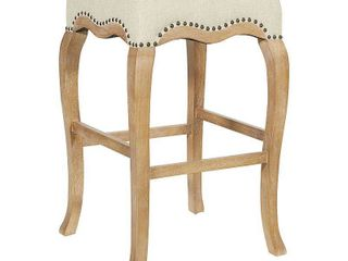 30  Maya Stool linen   OSP Home Furnishings