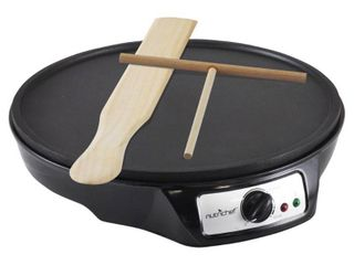 NutriChef PCRM12   Electric Crepe Maker   Griddle  Hot Plate Cooktop