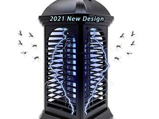 Bug Zapper Powerful Insect Killer Electric Mosquito Zappers Killer   Insect Fly Trap with Uv Mosquito lamp for Indoor Home