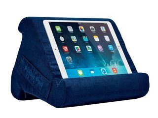 Pillow Pad Multi Angle Cushioned Tablet and iPad Stand  Blue  As Seen on TV