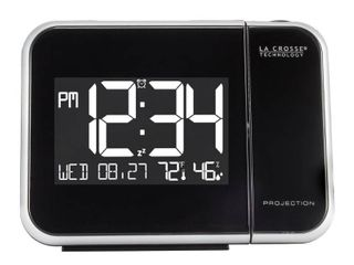 la Crosse Technology 616 1412 Projection Alarm Clock with Indoor Temperature