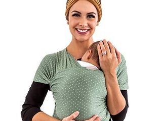 WeeSprout Baby Wrap Carrier   Perfect Baby Carrier Wrap Sling for Newborn and Infant   Enhances Baby Bonding   Soft and Breathable   Ideal for Babywearing