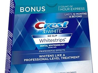 Crest 3D White Professional Effects Whitestrips 20 Treatments   Crest 3D White 1 Hour Express Whitestrips 2 Treatments   Teeth Whitening Kit