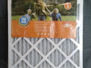 TRUE BlUE 4 Pack FIlTERS  MODEl  518181  Family Protection protect your family again smaller Airborne particles last of the three months 38 times more efficient and fiberglass filter save energy change your filters regularly
